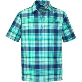 Schöffel Bischofshofen1 UV Shortsleeve Shirt Men blue/turquoise